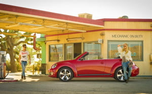 2013 Volkswagen Beetle Convertible profile view