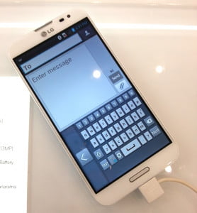 LG Optimus G Pro keyboard