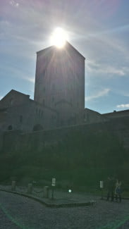 Cloisters sun flare - Galaxy S4 Camera