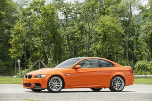 BMW M3 Coupe Lime Rock Park Edition side view
