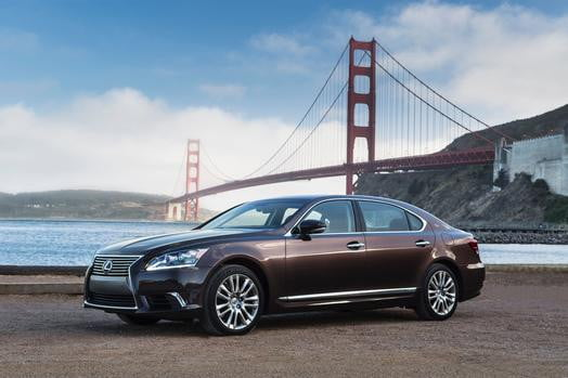 2013 Lexus LS 600h L at Golden Gate