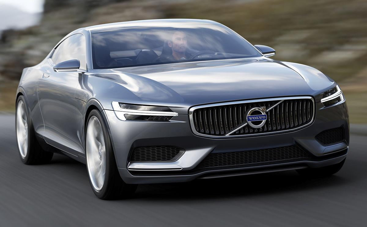 frankfurt  volvo concept coupe showcases future design plans for production models b
