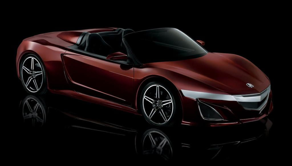 acura planning drop top nsx supercar variant  convertible hd x