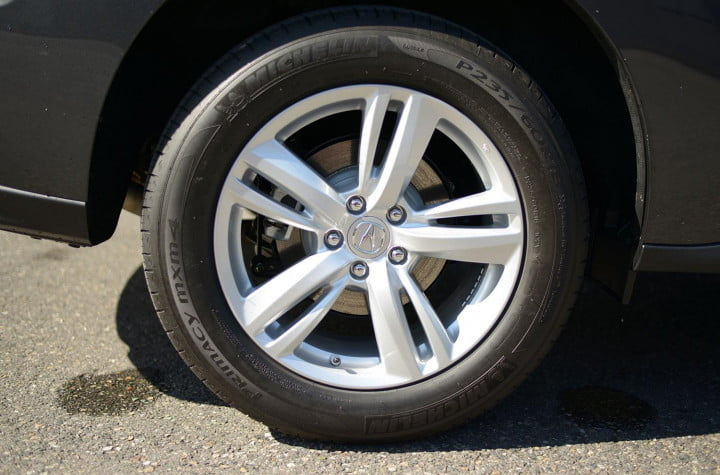 acura rdx review exterior wheel macro
