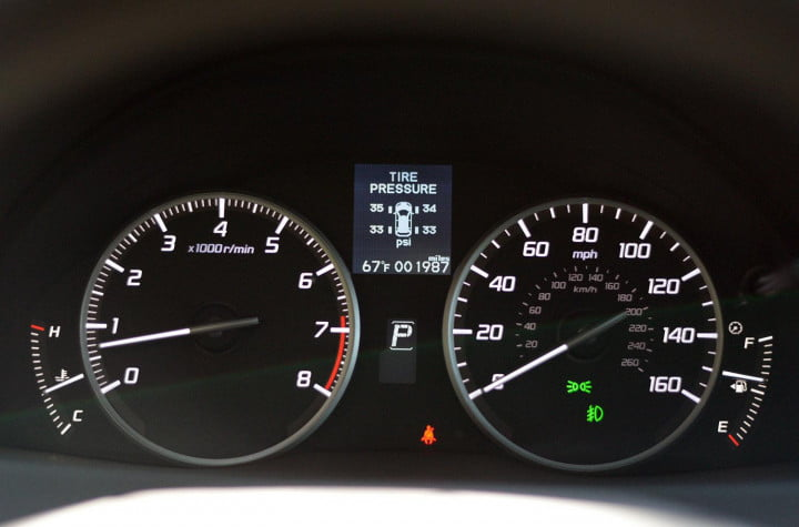 2014 Acura RDX interior instrument panel