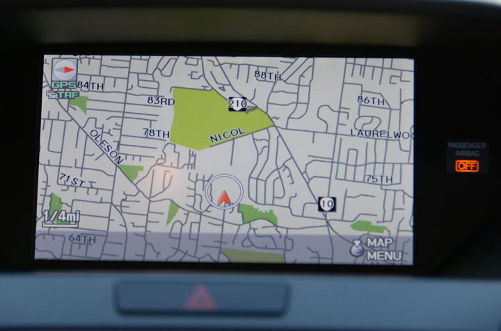 acura rdx review screen navigation