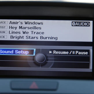 2014 Acura RDX screen sound setup
