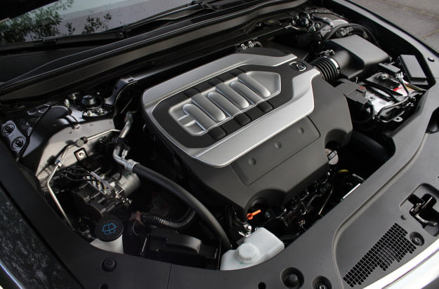2014 acura rlx advance engine
