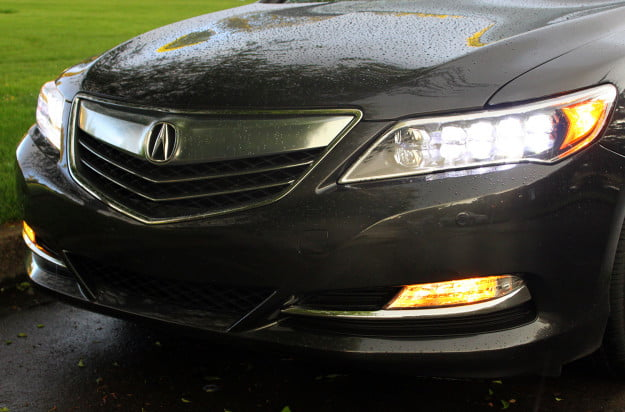 2014 acura rlx advance exterior headlights