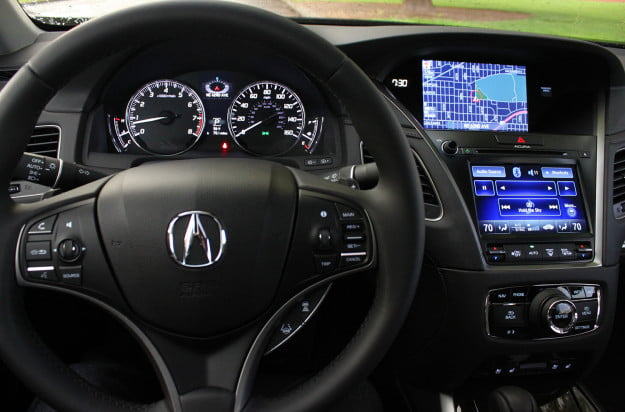 2014 acura rlx advance interior tech full