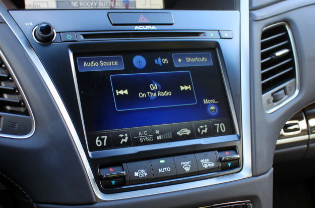 2014 acura rlx advance tech audio