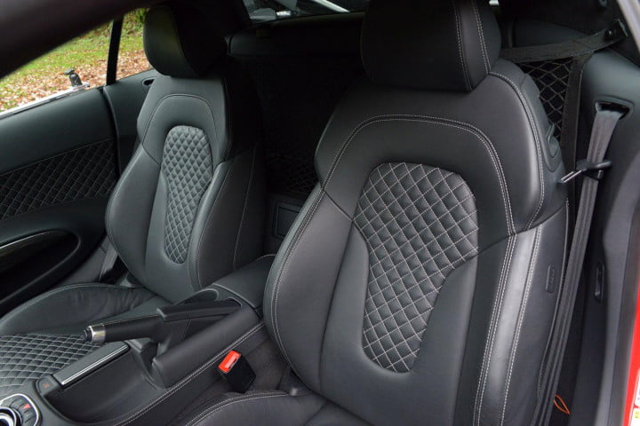 audi r review v seats