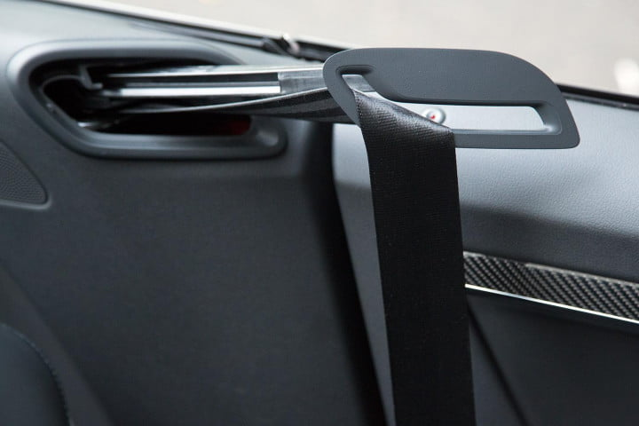 audi rs cabriolet review seatbelt arm extender