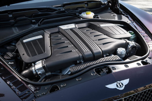 2014 Bentley Continental GT Speed convertible engine