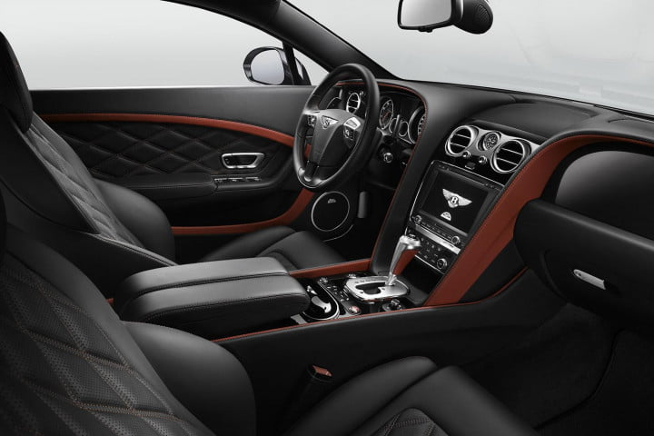 bentley continental gt speed review front cabin
