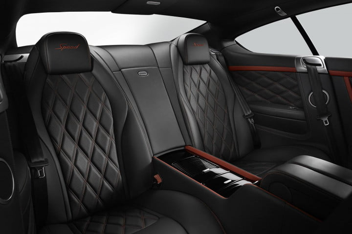 bentley continental gt speed review rear cabin