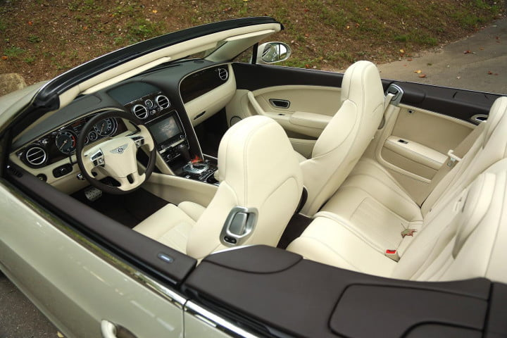 bentley continental gtc review interior