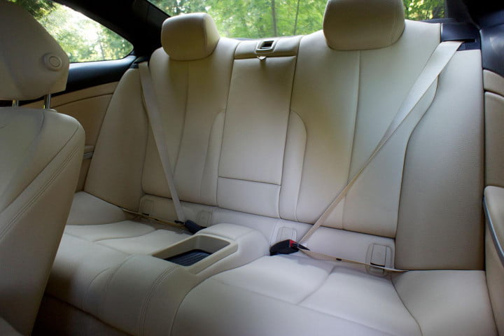 first drive  bmw series back interior