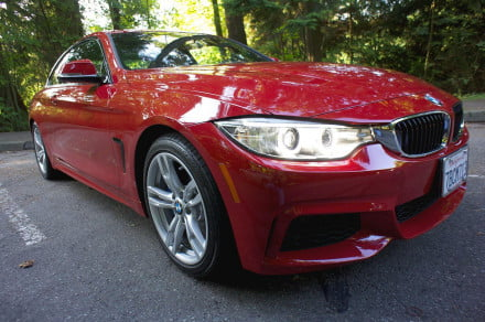2014 BMW 4 Series front angle