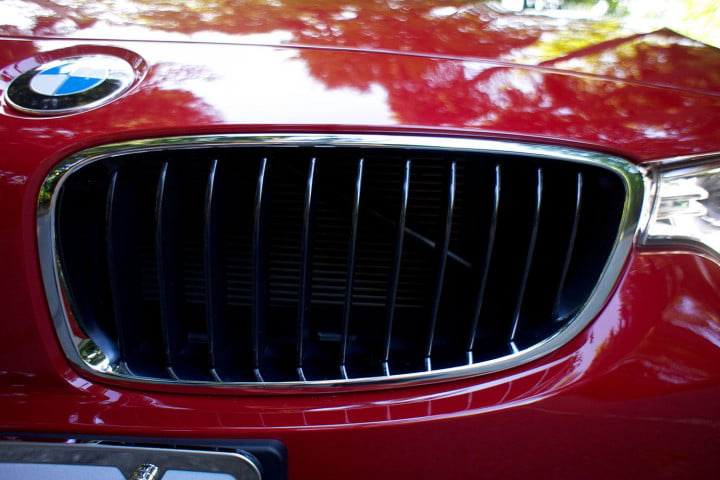 first drive  bmw series grill