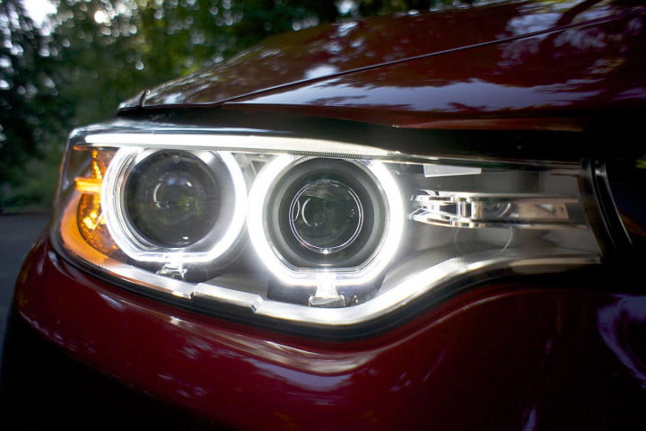 first drive  bmw series headlight