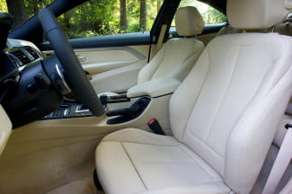 2014 BMW 4 Series interior front