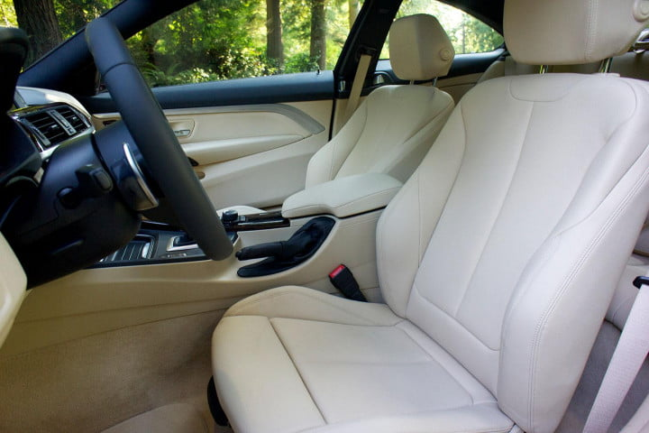first drive  bmw series interior front