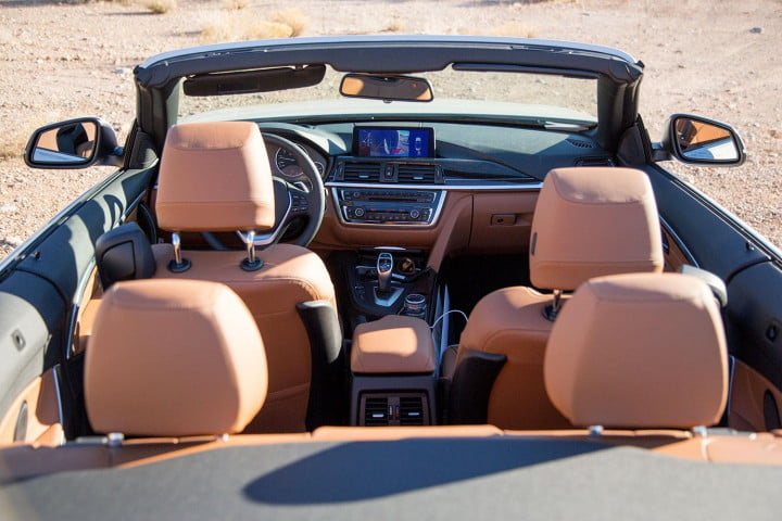 bmw i convertible review interior