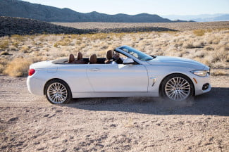 2014 BMW 435i Convertible right side 2