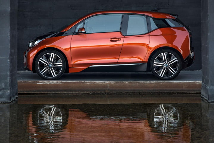 forget the germans tesla should be more worried about cheap chinese clones  bmw i exterior left