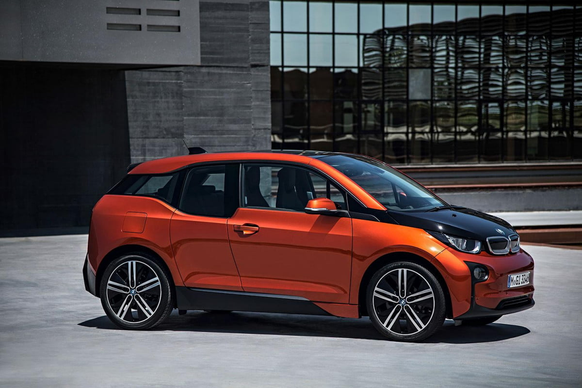 bmw i  may get an early production boost from high demand exterior right