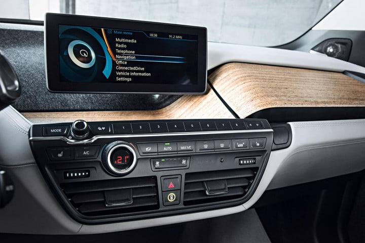 bmw i  vs chevy spark ev bavaria and detroit may be closer than you think interior infotainment