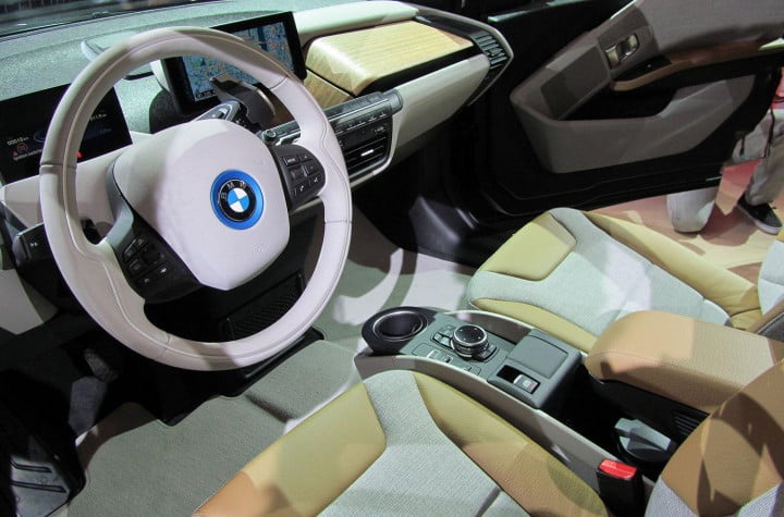 bmw i revealed bmws first ev defines the word new reveal interior front driver side