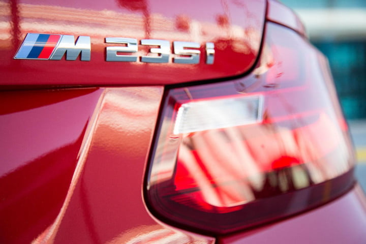 bmw m i coupe review back light