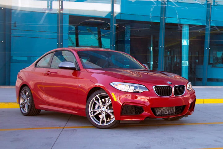 bmw m i coupe review front right