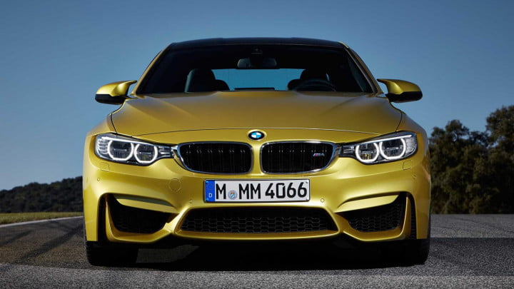 2014 BMW M4 Coupe front