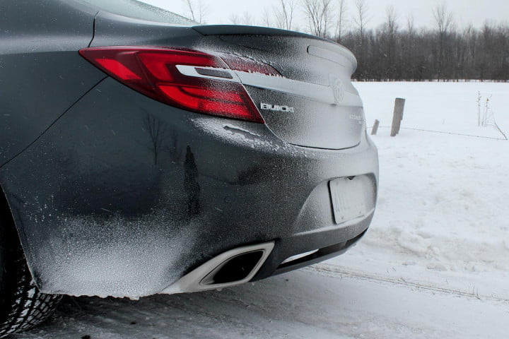 buick regal gs review awd back section
