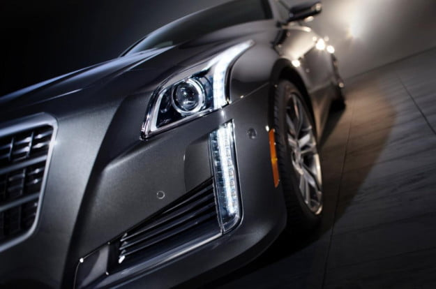 2014 Cadillac CTS close-up