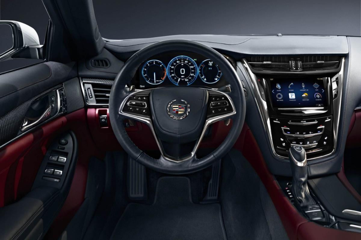 all new cadillac cts highlights the power and technology of sound  interior