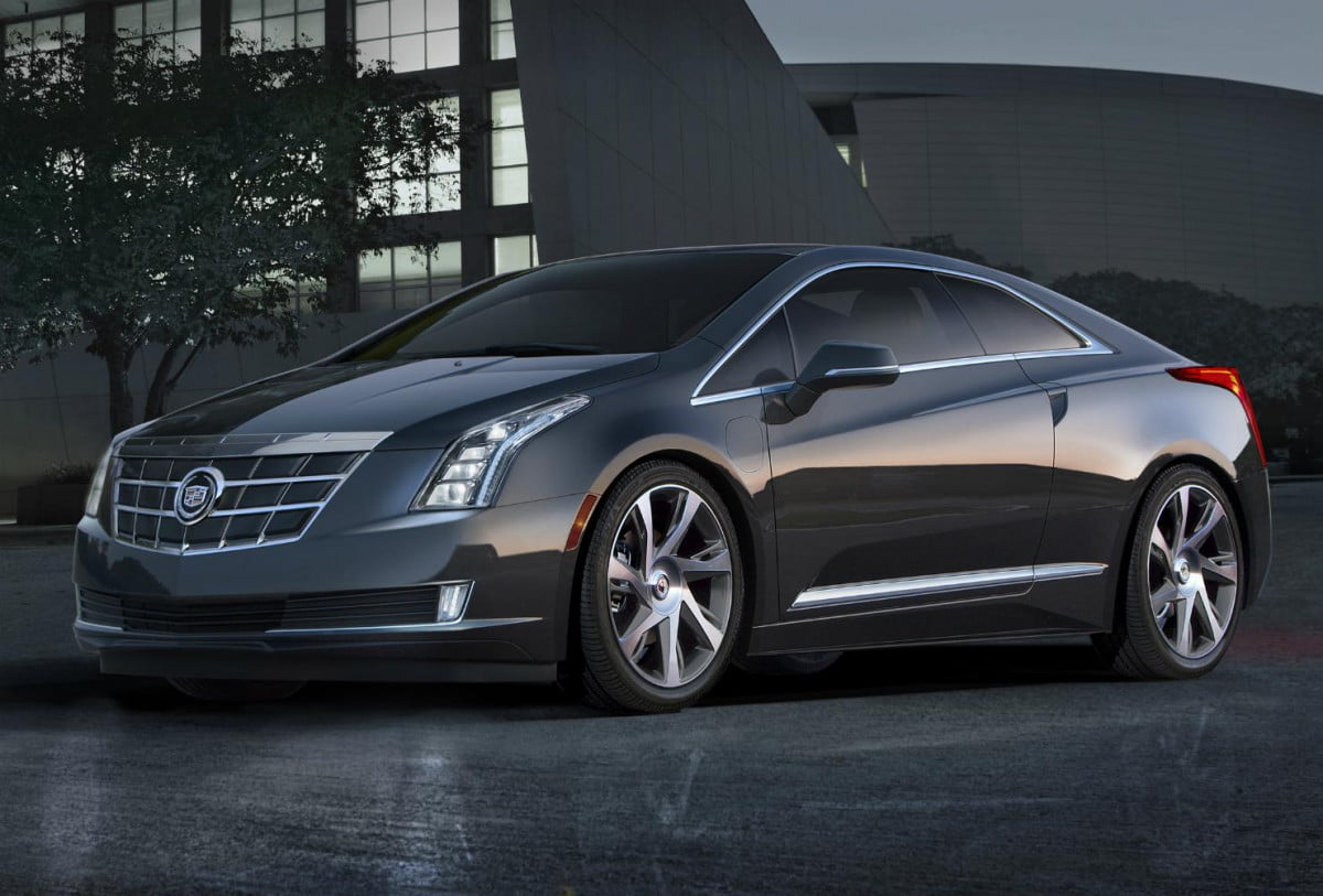 the cadillac elr might be electric but its price that shocks