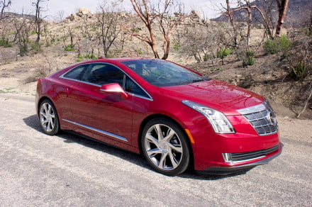 2014 Cadillac ELR front angle full