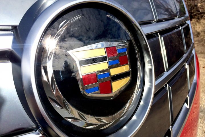 cadillac elr review front badge