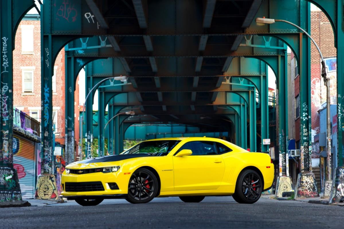 chevrolet camaro will have evolutionary styling le