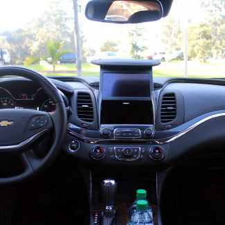 2014 chevrolet impala red climate control audio navigation screen MyLink integrated Valet Mode
