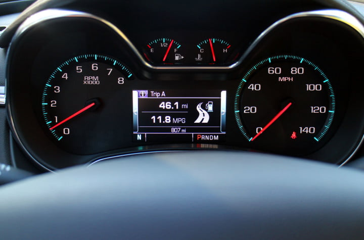 first drive come for the nostalgia stay tech smarts in chevys  impala chevrolet red speedometer