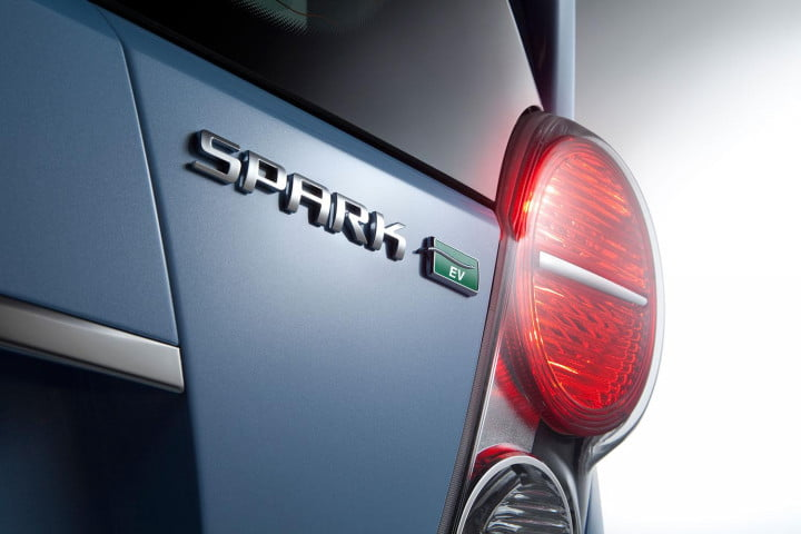 bmw i  vs chevy spark ev bavaria and detroit may be closer than you think chevrolet sparkev exterior tail light macro