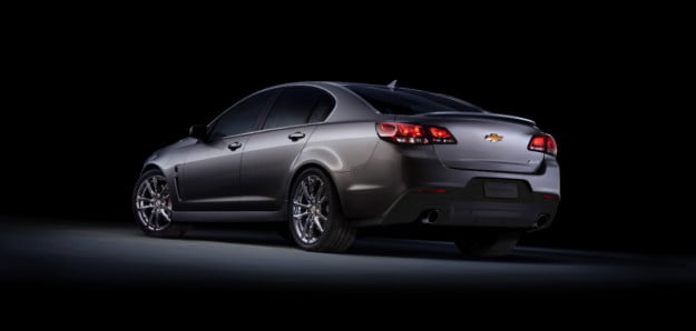 2014 Chevrolet SS rear three quarter