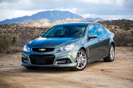 2014 Chevrolet SS front left angle
