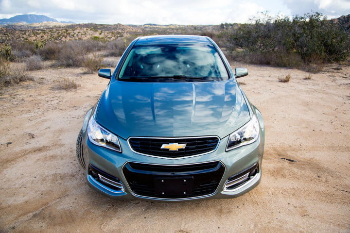 chevrolet ss review front top