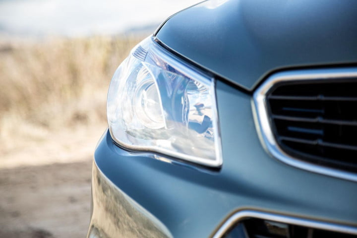 chevrolet ss review headlight